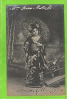 E Yerna, premi�re chanteuse l�g�re,  Th�atre Royal d�Anvers �Madame Butterfly� 1911-1912