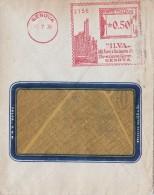 1936 - AFFRANCATURA PUBBLICITARIA EMA - ILVA ALTI FORNI E ACCIAIERIE / GENOVA - S7495 - Marcophilia