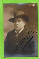 Pol Virly  Th�atre Royal d�Anvers 1913  Autographe