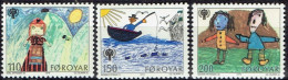 FAROE ISLANDS # STAMPS FROM YEAR 1979 STANLEY GIBBON 44-46** - Féroé (Iles)