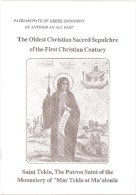 Old Religious Booklet Saint Tekla, The Oldest Christian Sacred Sepulchre Of The First Christian Century Maaloula SYRIA