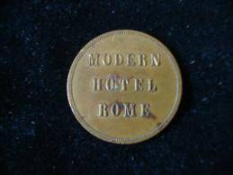 Gettone Moder Hotel Rome 23 Mm 4,14 Gr. - Italia