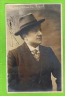 Mezy Th�atre Royal  1910  autographe