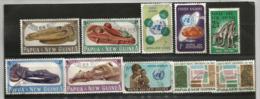 Année Complète 1965.  10 Timbres Oblitérés.  Côte  15.00 € - Papua New Guinea