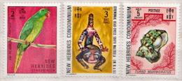 New Hebrides MNH Stamps, High Values - English Legend