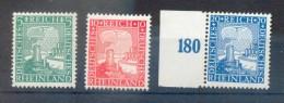 DR-Weimar 372/74 SATZ**POSTFRISCH 55EUR (70514 - Nuevos