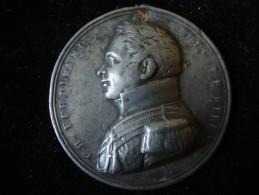 France Duc De Berry  Medaille En Etain 40mm 19,26 Gr. - Other