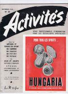 ACTIVITES N°21 Sport Jouets Peche Chasse Ski Poupees .. - Livres, BD, Revues