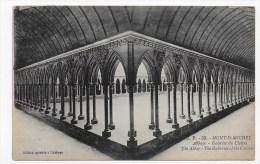 LE MONT SAINT MICHEL - N° 39 - ABBAYE - GALERIES DU CLOITRE - Le Mont Saint Michel