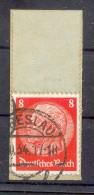 DR-3.Reich 517 R ROLLENMARKENENDE Gest. Luxusbriefstück (G6934 - Briefe U. Dokumente