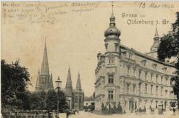 ALLEMAGNE OLDENBURG GRUSS GROSSHERZOGL SCHLOSS 188 - Oldenburg