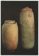 JERUSALEM - The Israel Museum - Two Jars From Qumran In Which The First Scrolls Were Discovered - Israel