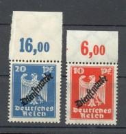 DR-Dienst 107/8 P **POSTFRISCH OBERRAND(C3040 - Dienstzegels