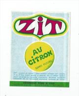 étiquette Auto-collante ,ZIT , Au Citron , Sans Sucre , Védrenne Père & Fils , Nuits St Georges - Etiquettes