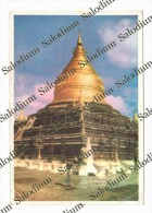 UNION OF MYANMAR - BIRMANIA - SHWEZIGON PAGODA  BAGAN MYANMAR - XXL CARD - Big Format - Myanmar (Burma)