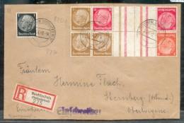 DR-ZusDr. KZ23.3 Schöner Brief (G1106 - Se-Tenant