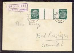 DR-ZusDr. KZ22.1 Schöner Brief (G1302 - Se-Tenant