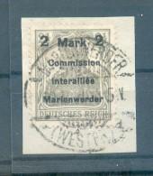 Marienwerder 23AIaBl TYPE Gest.+gepr. KLEIN 120EUR (43977 - Duitsland