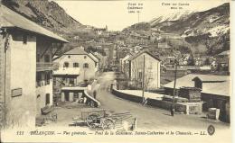 BRIANÇON, VUE GENERALE - PONT DE LA GUISANNE, SAINTE-CATHERINE ET LA CHAUSSÉE. LL - Briancon