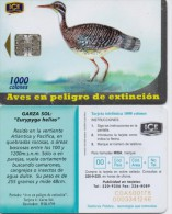 COSTA RICA PHONECARD BIRD GARZA-400000cps -10/00-USED