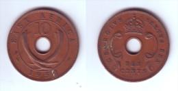 East Africa 10 Cents 1952 - Colonie Britannique