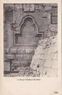 Asie - Syrie - Damas Damascus -  Archéologie Stèle Vieille Citadelle