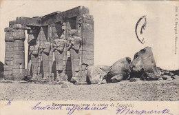 Egypte - Thèbes Luxor - Archéologie - Ramesseum - Statue De Sesostris - Luxor