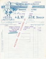 Brief Van 1929 - GENT - A. WALDACK  Succr. - Raffinerie D´huiles Et Graisses - Goudrons, Brais & Poix - Belgique