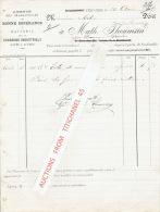 Facture 1887 VERVIERS - MATH. THOUMSIN - Agence des charbonnages de Bonne Esp�rance et Batterie