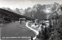 Lago Di Misurina. Sorapis - Italia