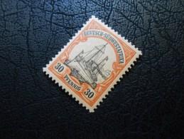 D.R.Mi 16 - 30Pf* Deutsche Kolonien ( DEUTSCH-SUEDWESTAFRIKA ) 1901 - Colony: German South West Africa