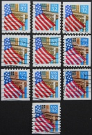 USA, Vlag Over Veranda - Postzegels