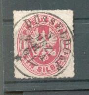 Preussen 16 Mit Gutem DÜSSELDORF-STEMPEL (43999 - Preussen