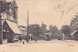 Purley - Tram Terminus (top Animation, 1904, Capitaine Au Long-cours, Marseille) - London Suburbs