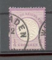 DR-Brustschild 16 TOP Gest. 130EUR (23117 - Deutschland