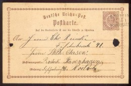 DR-Brustschild GA P1 Stettin Nach Rostock (34164 - Briefe U. Dokumente