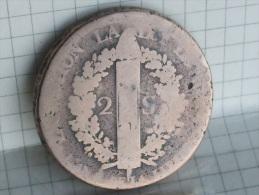 2 SOLS AU FAISCEAU 1792 BB - 1789 – 1795 Monedas Constitucionales
