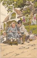 Alfred Ost:  Reeks Van Zes Consciencekaarten: 6 E Bavo En Lieveken - Illustrateurs & Photographes