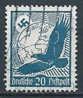 1934 GERMANIA TERZO REICH USATO POSTA AEREA AQUILA 20 P - G4 - Airmail