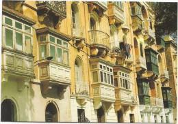 K2831 Malta - Traditional Townhouses - Nice Stamps Timbres Francobolli / Viaggiata 1996 - Malta