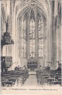 CONCHES-Intérieur De L'Eglise Ste-Foy - Conches-en-Ouche