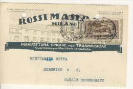 S.Antonio 30 Cent. Isolato - Storia Postale