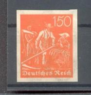 DR-Infla 189U UNGEZÄHNT**POSTFRISCH 150EUR (22169 - Duitsland