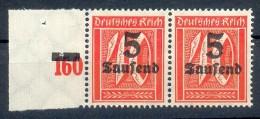 DR-Infla 277IV ABART**POSTFRISCH 50EUR (35873 - Duitsland