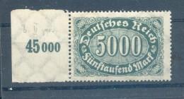 DR-Infla 256bII ABART**POSTFRISCH BPP (43930 - Duitsland