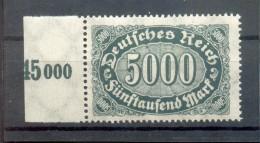 DR-Infla 256dII ABART**POSTFRISCH BPP (48539 - Deutschland