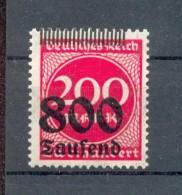 DR-Infla 303 STRICHLEISTE OBEN**POSTFRISCH (69979 - Duitsland