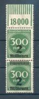 DR-Infla 310 EXTREM VERSCHOBENER AUFDRUCK**POSTFRISCH (70093 - Duitsland