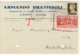 Ferrucci 20 C. + Imperiale 10 C. - 1900-44 Vittorio Emanuele III