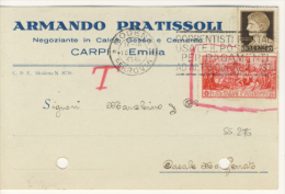 Ferrucci 20 C. + Imperiale 10 C. - 1900-44 Victor Emmanuel III